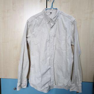 🚚 Muji Long Sleeve Corduroy Shirt
