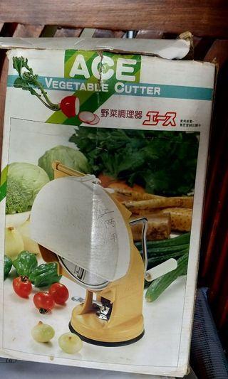 Vegetables cutter onions carrots etc