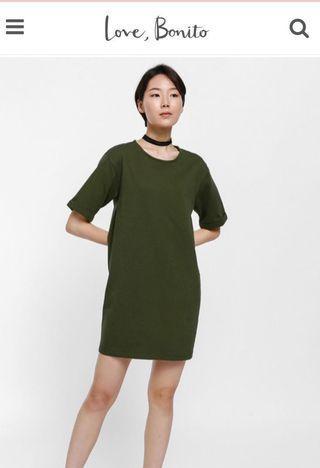 BN LB Moa short sleeve t-shirt dress