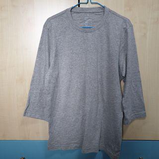 🚚 Muji 3/4 Sleeve T-shirt