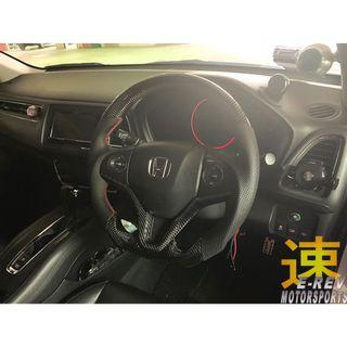 Honda Vezel/ Jazz GK/ Fit GK Carbon Fibre Steering Wheel