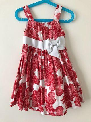 Pumpkin Patch Floral Dress