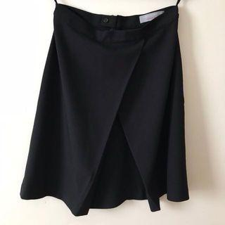 Dorothy Perkins Black Wrap Skirt