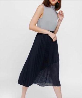 Love Bonito Fillioe Pleated Skirt