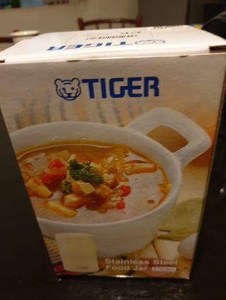 Tiger Stainless Steel Food Jar (750ml) with Carrying Case - Model MCJ-A075