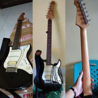 Gitar Yamaha Pasifica 012 Black *Original