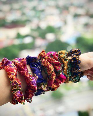 Handmade Batik Scrunchie