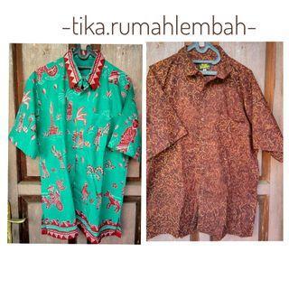 Take all Kemeja Batik Pria free ongkir