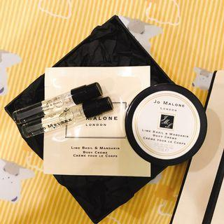 Authentic Jo Malone Body Creme And Perfume Sample (New)