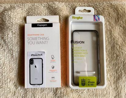 iPhone X/Xs - Spigen & Ringke Original