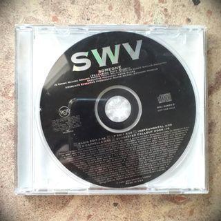 SWV 'Someone' Single CD