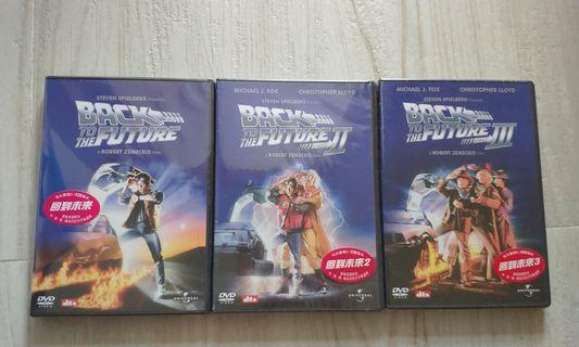 Back to the future 回到未來DVD (1--3集)