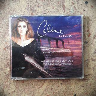 Celine Dion 'My Heart Will Go On' Single CD