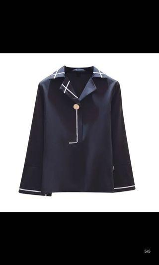 BN Black with White lining Shirt
