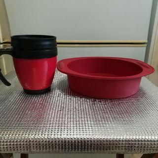 Silicon Bakeware & Drinking Travel Mug