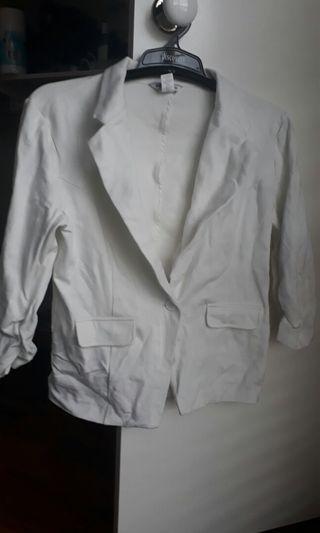 Body Central White Coat/Jacket