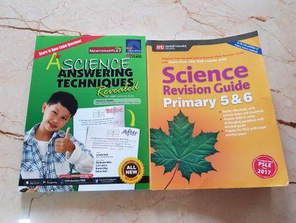 PSLE Science Assessment Books