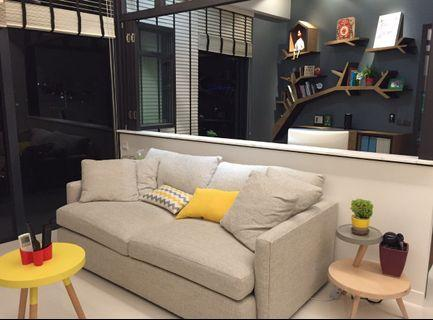 🚚 Priced to go - quality sofa from Crate & Barrel