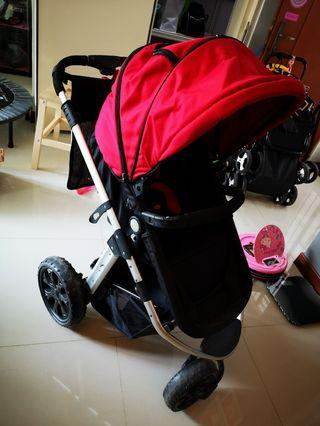 🚚 Chris & Belle stroller