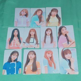 IZ*ONE official pop up store photocard