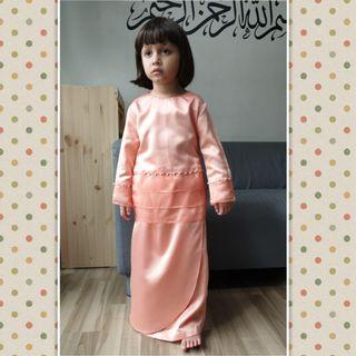 #KIDS KURUNG #baju#baju kurung #kurong #malay #raya #toddler #girls #muslimah #mum #mother #sets #tudung #kebaya