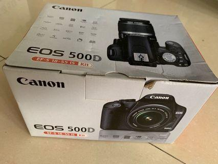 Canon EOS 500D EF-S-55 IS