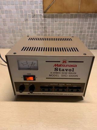 MATSUNAGA STAVOL MODEL SVC-1000N 變壓器