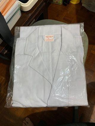 全新 實驗室白袍 Laboratory coat M碼 維多利校服