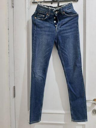 H&M  Skinny Ankle High Waist Jeans