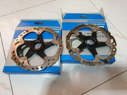 Shimano RT-81 ICE Technologies 160mm Centre Lock Disc Rotors (2-for-60sgd)