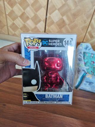Red chrome Batman