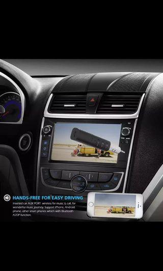 9e1db43c06f Mini 3.5mm Jack Bluetooth Car Kit Handsfree Music Audio Receiver Adapter  Auto Bluetooth AUX for