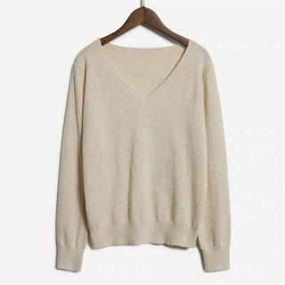 🚚 Oat coloured knitted Sweater