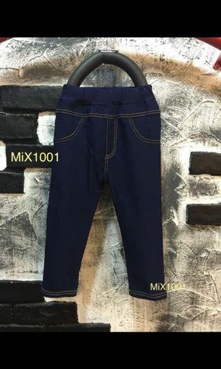 🚚 兒童深藍色牛仔褲(11號)