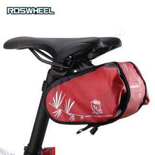Roswheel-全新自行車全防水大容量快拆座墊包 超音波融合單車坐墊包 高頻焊接腳踏車尾包 鞍座包 坐墊袋 座墊袋