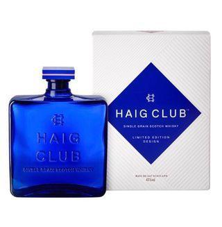 Limited Edition Haig Club Single Grain Scotch Whisky- 1L