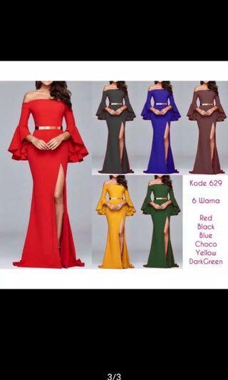 Long dress scuba import