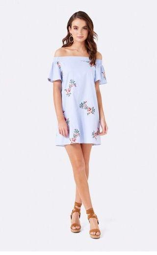 Forever New Mia off the shoulder dress