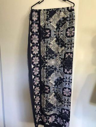 Soft cotton scarf, shawl, sarong
