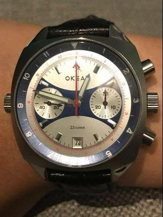RARE Okean Chrono For Sale. Priced to clear. 50% off until 15 May 19