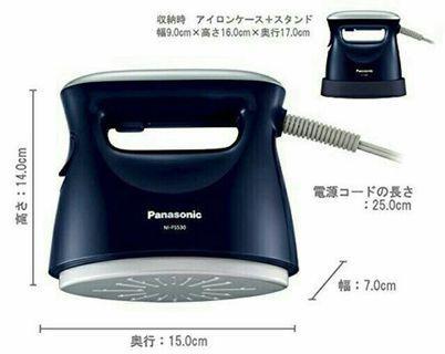 現貨!日本購入panasonic手持蒸氣熨斗 掛燙機 FS530 FS-530