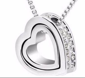 [ Mother's Day Special ] Sparkling Love Pendant Charm Necklace - New