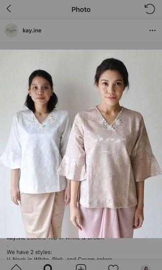 KAYINE pink top