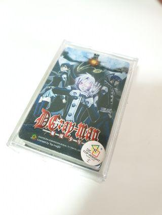 D.Gray-Man Poker Cards