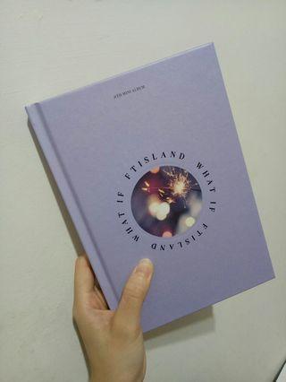 🚚 Ftisland WHAT IF 迷你專輯 在真小卡