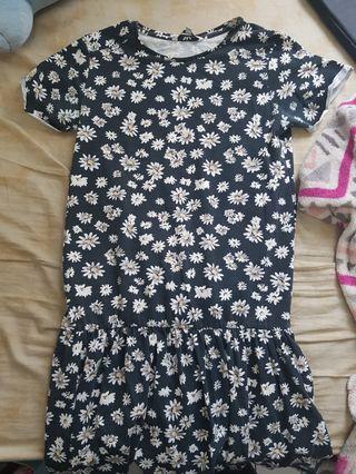 colorbox daisy print dress