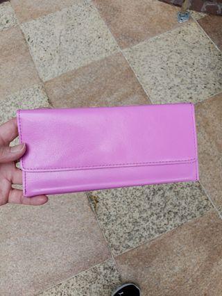 brand new leather long card wallets 長型真皮銀包