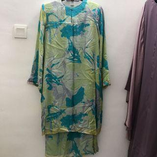 Modern Kurung Chiffon (Full Lining) with Beads