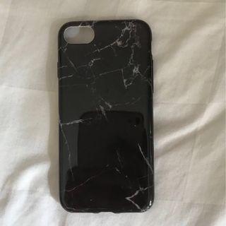 Elegant Marble Black iPhone 7 Case