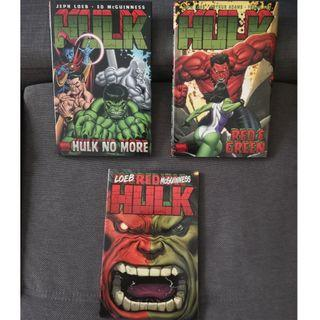 Hulk Volume 1 till Volume 3 (Jeph Loeb - Red Hulk Run)